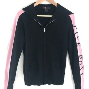 Ralph Lauren Cashmere Pink Pony Hooded Sweater M